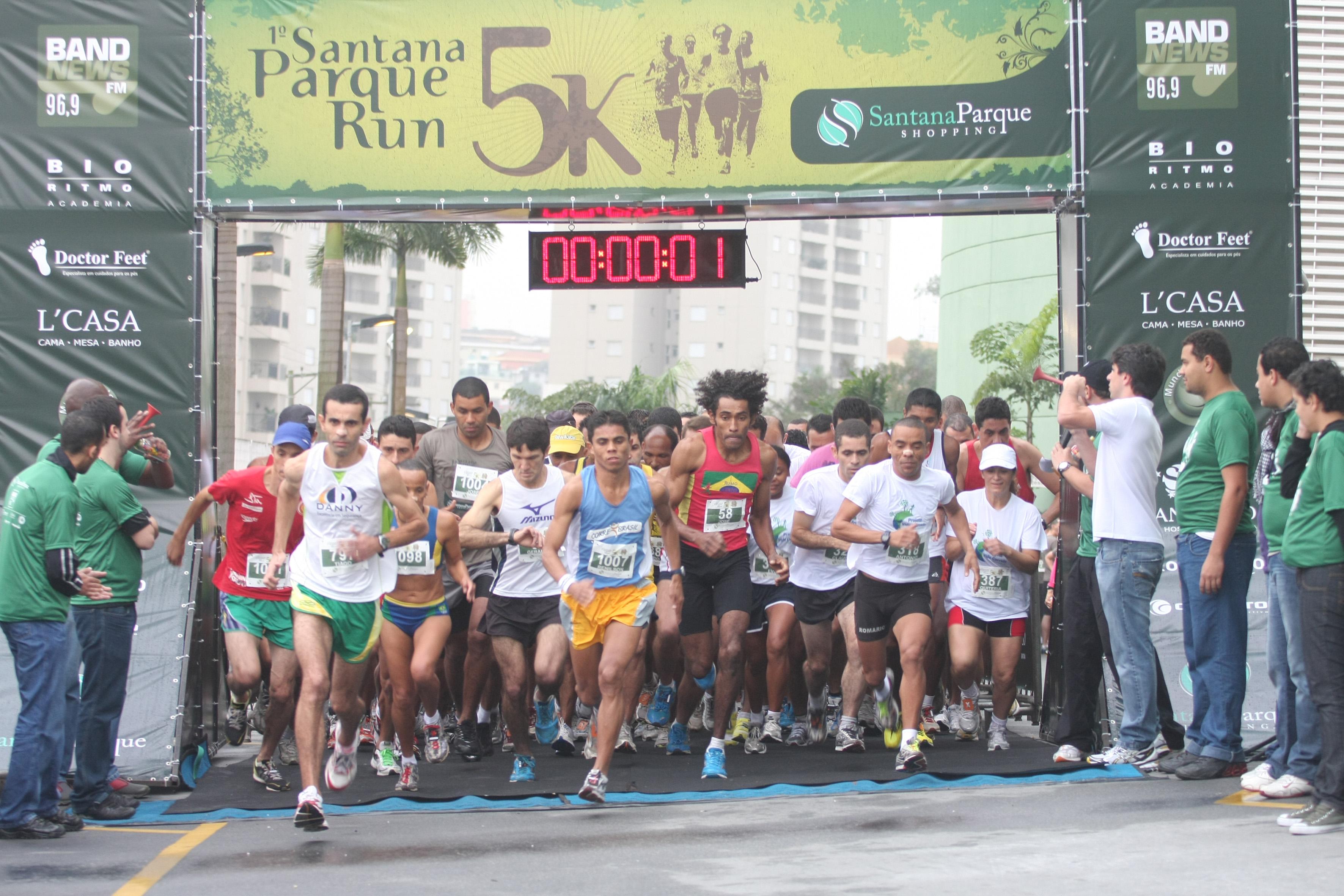 Santana 215 Parque Run